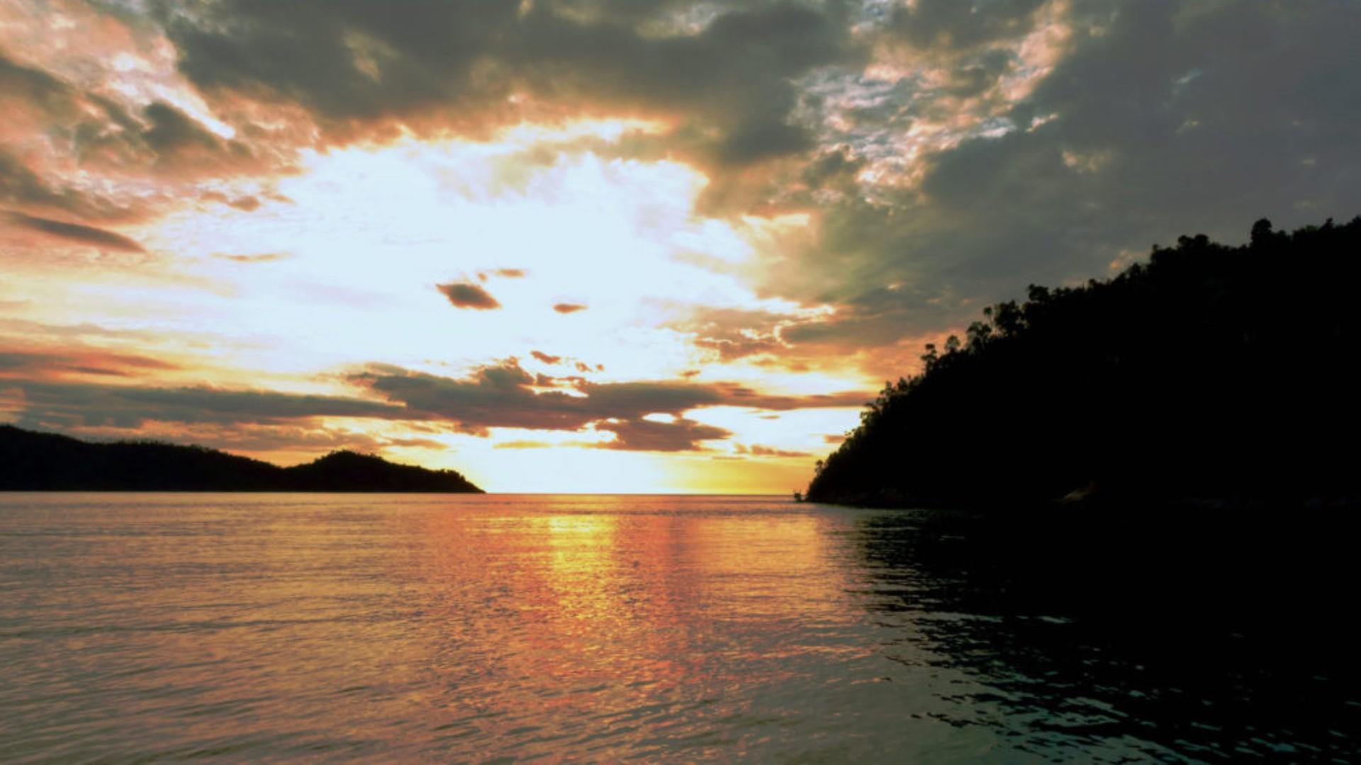 coucher de soleil baramahamay