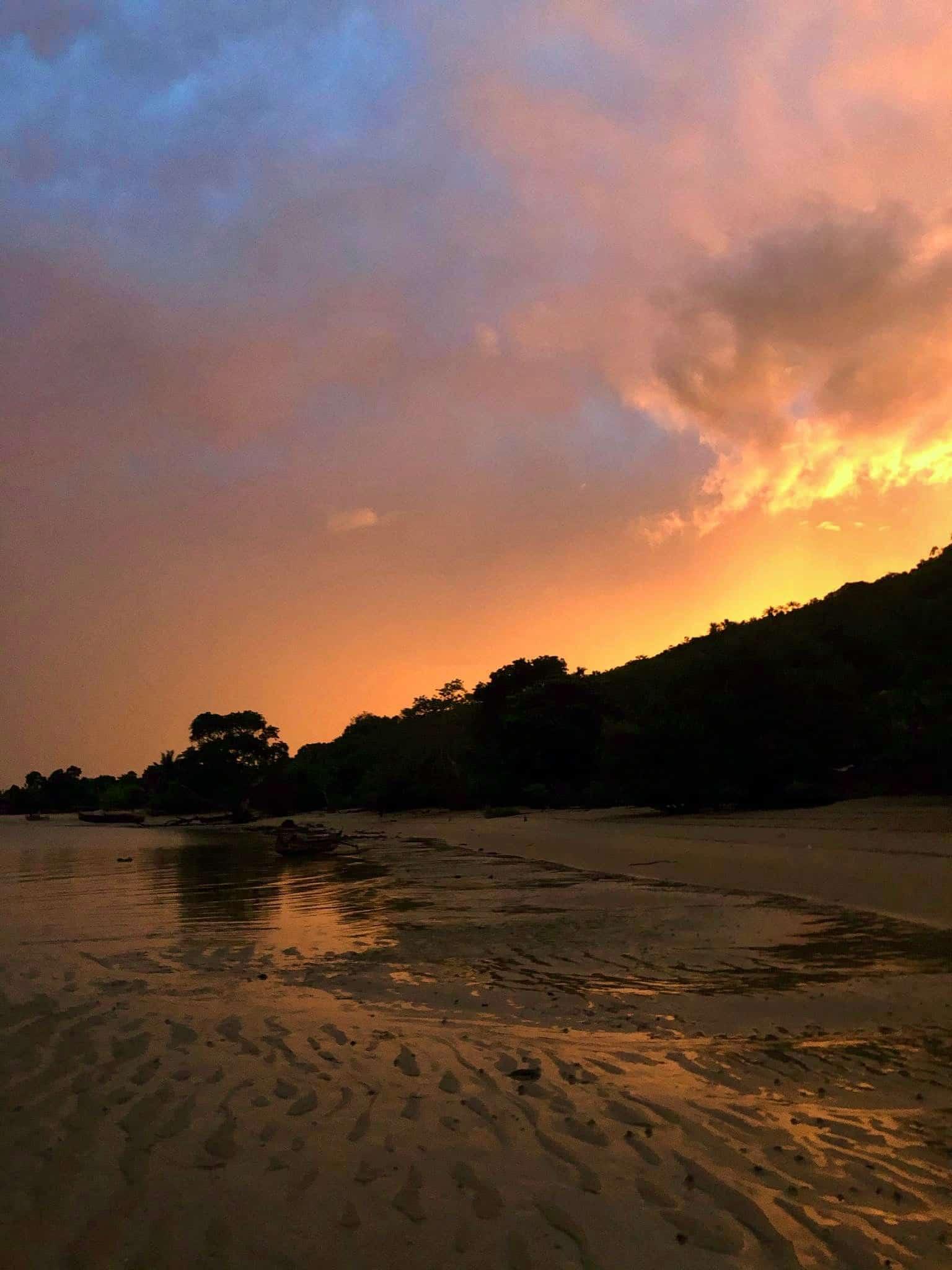Coucher de soleil Radama