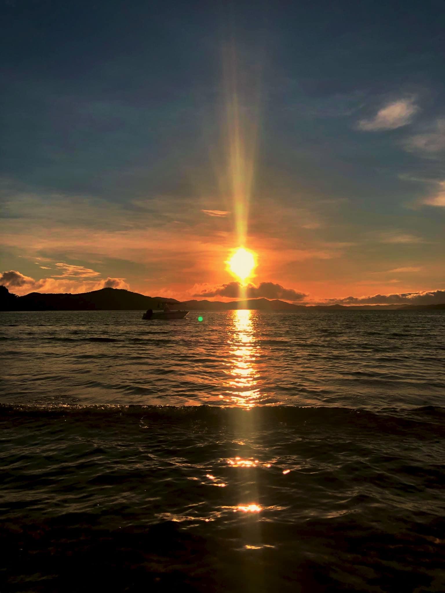 Coucher de soleil îles Radama