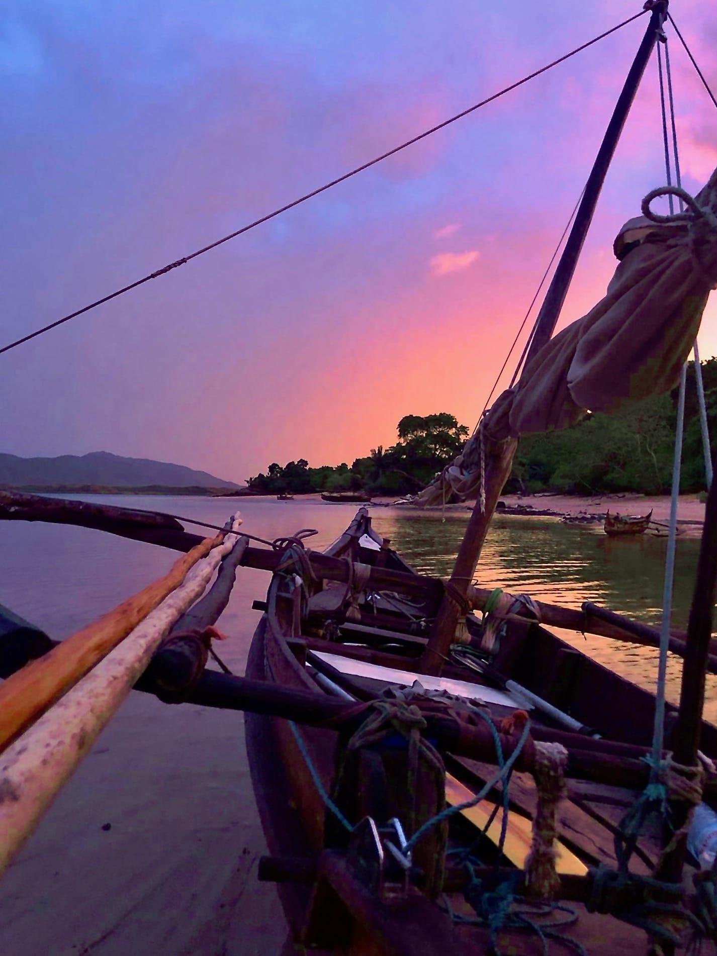 Pirogue les îles Radama