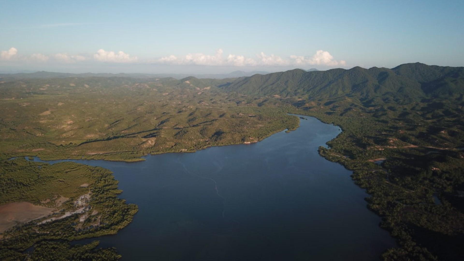La baie d'Ambalia à Madagascar