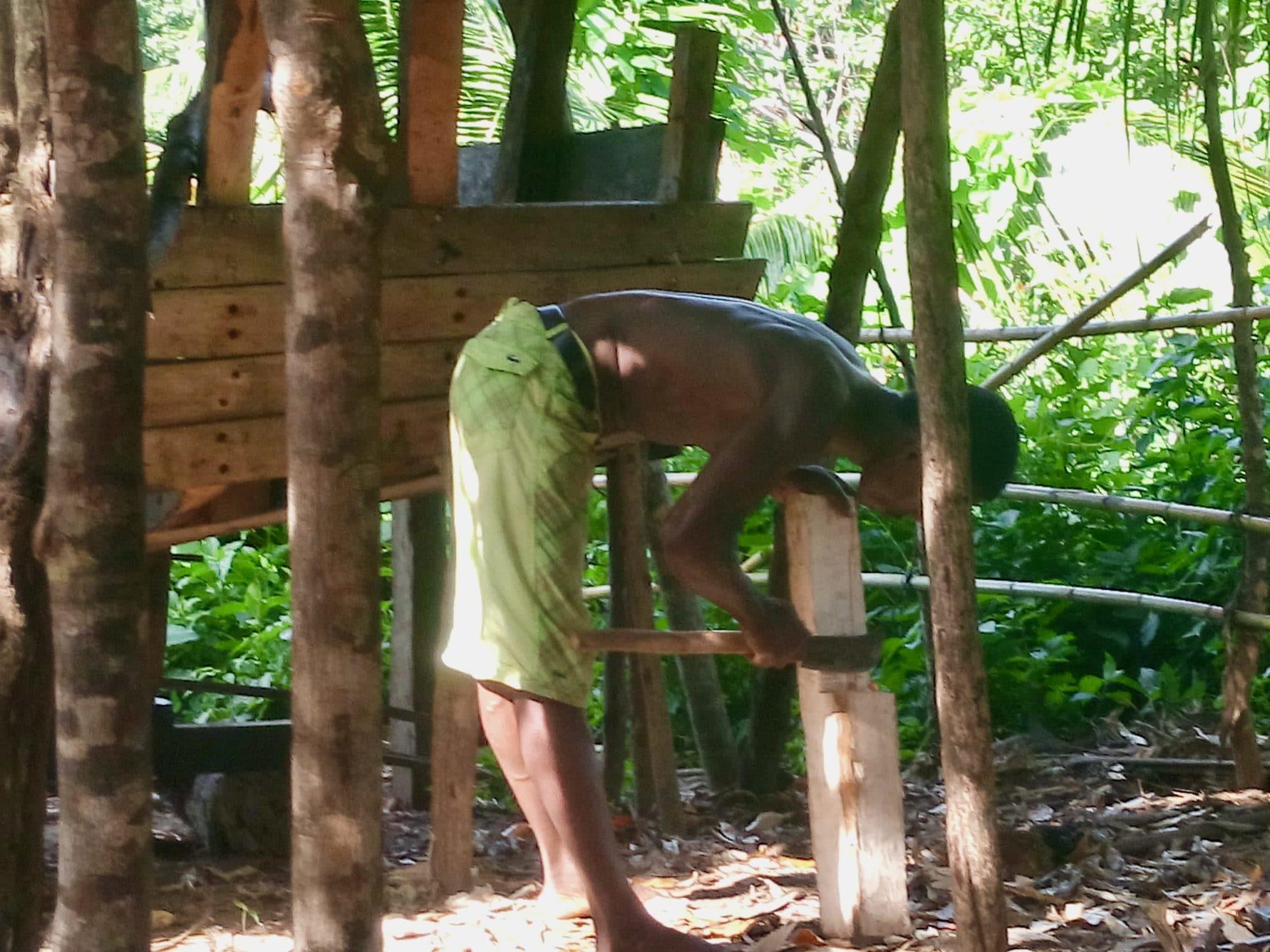 Construction de pirogue Madagascar