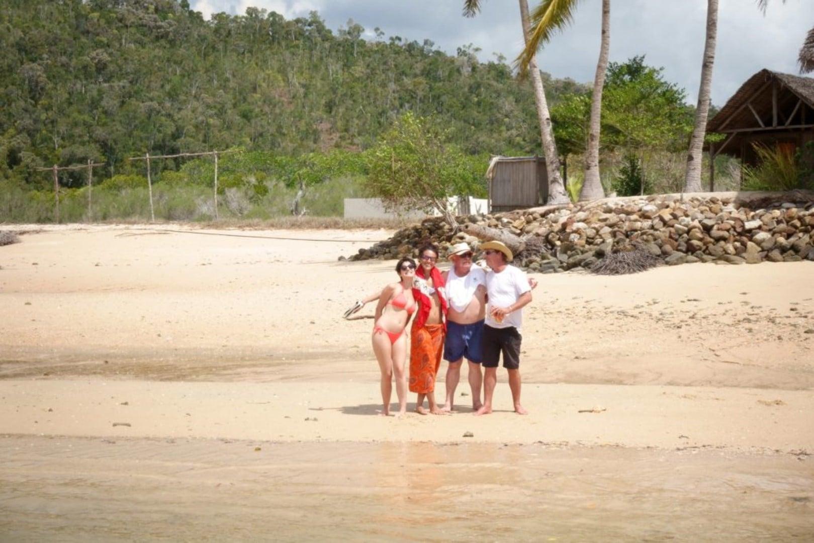 Groupe excursion à Madagascar