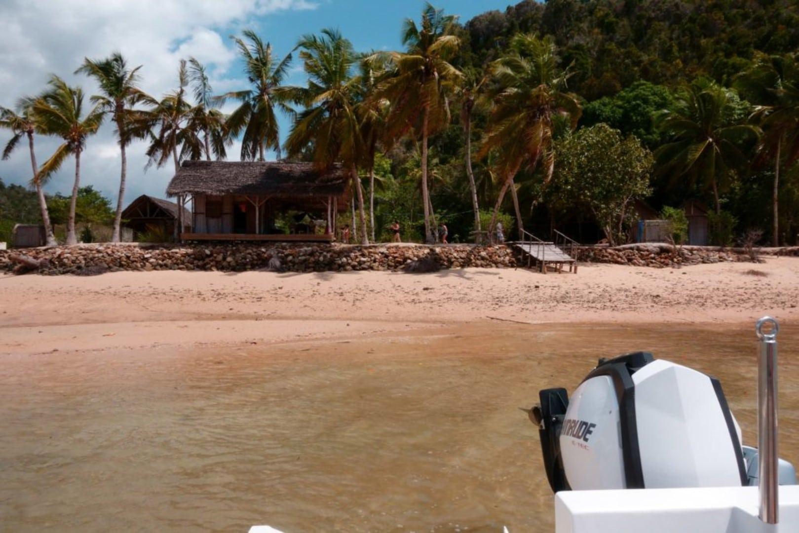 Excursion sur la baie d'Ambalia