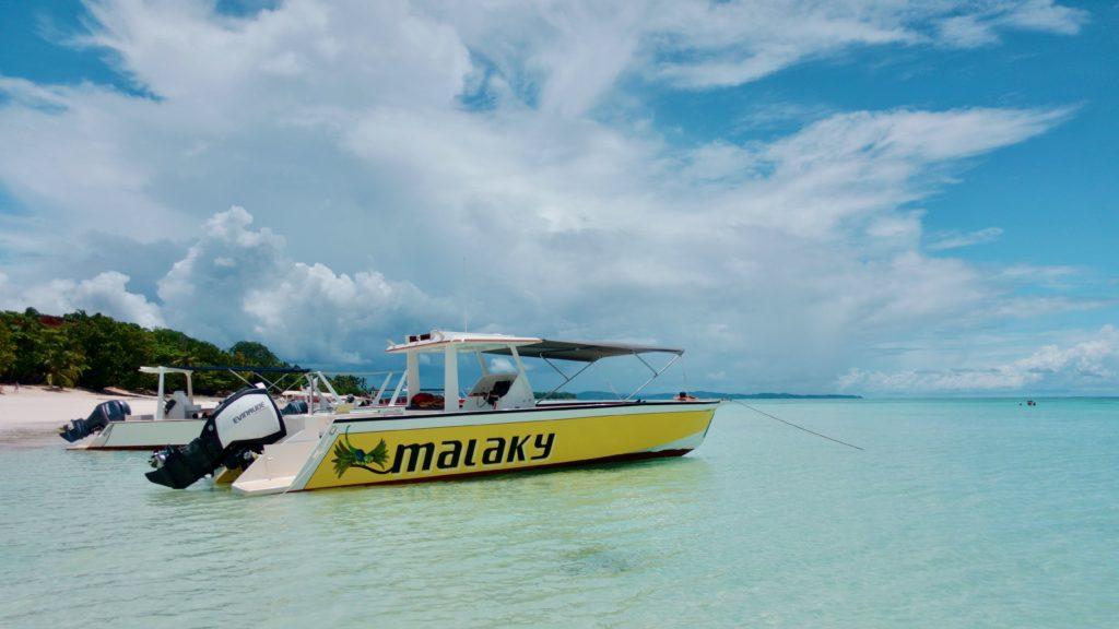 bateau malaky nosy découvertes